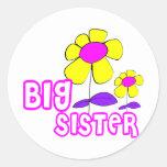 Big Sister Round Sticker