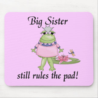 Big Sister Rules the Pad Tshirts Mouse Pad