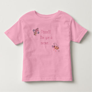 Big Sister Secret; Large sister secret Toddler T-shirt