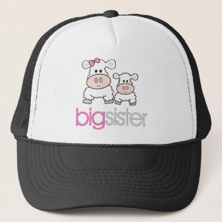 Big Sister Sheep Pregnancy Announcement T-shirt Trucker Hat