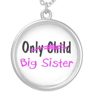 Big Sister Silver Plated Necklace