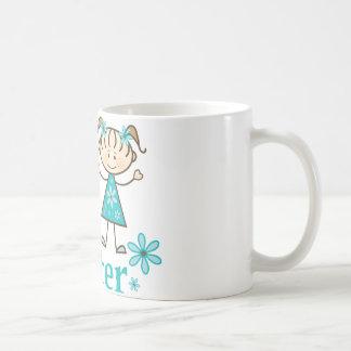 Big Sister Stick Figure Coffee Mug