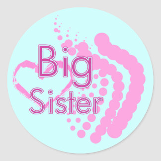Big Sister Stickers