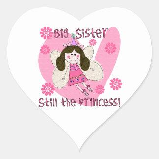 Big Sister Still the Princess Heart Sticker