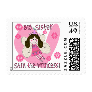 Big Sister Still the Princess Postage Stamps