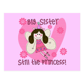 Big Sister Still the Princess Postcard