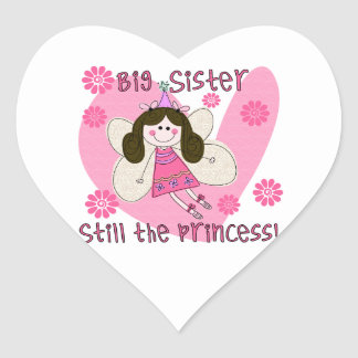 Big Sister Still the Princess Sticker