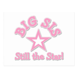 Big Sister Still the Star Tshirts and Gifts Postcard