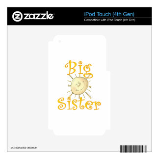 Big Sister Sunshine Smile Decal For iPod Touch 4G