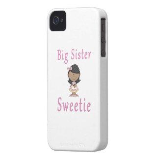 Big Sister Sweetie Black Hair Case-Mate iPhone 4 Cases