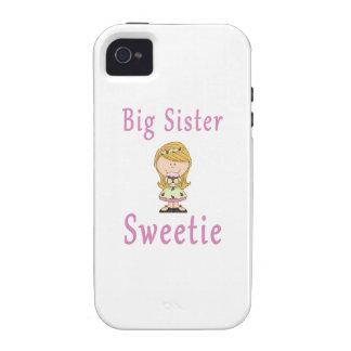 Big Sister Sweetie Blonde Hair Vibe iPhone 4 Case