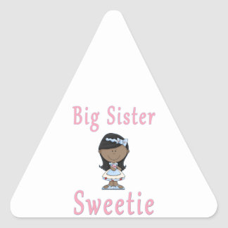 Big Sister Sweetie Dark Triangle Sticker