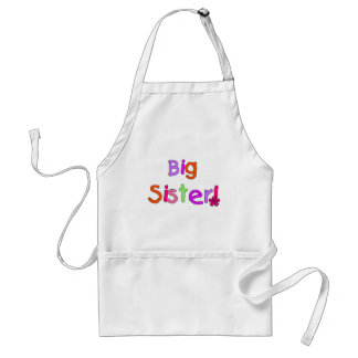 Big Sister T-shirts and Gifts Adult Apron