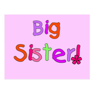 Big Sister T-shirts and Gifts Postcard
