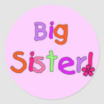Big Sister T-shirts and Gifts Sticker