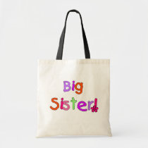 Big Sister T-shirts and Gifts Tote Bag