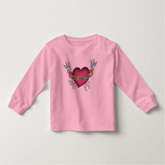 Big Sister Tattoo Heart Toddler T-shirt