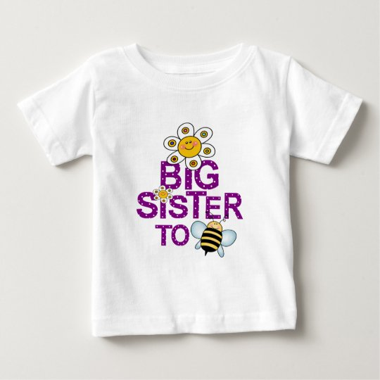 Big Sister To Be! Baby T-Shirt