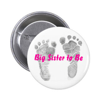 Big Sister to Be Button