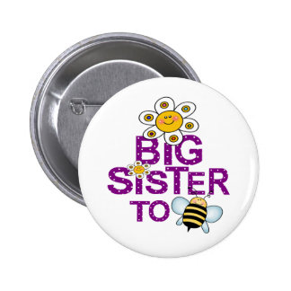 Big Sister To Be! Button
