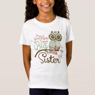 Big Sister To Be Owl T-Shirt