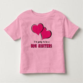 Big Sister-to-Be Toddler T-shirt