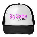 Big Sister To Be Trucker Hats