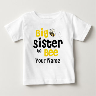 Big Sister to Bee Personalized T-shirt