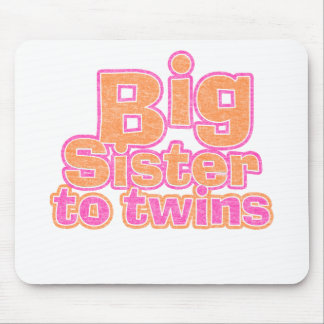 Big Sister to Twins Mouse Pad