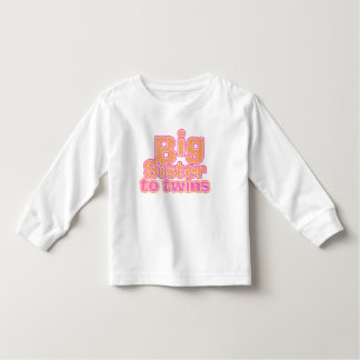 Big Sister to Twins Toddler T-shirt