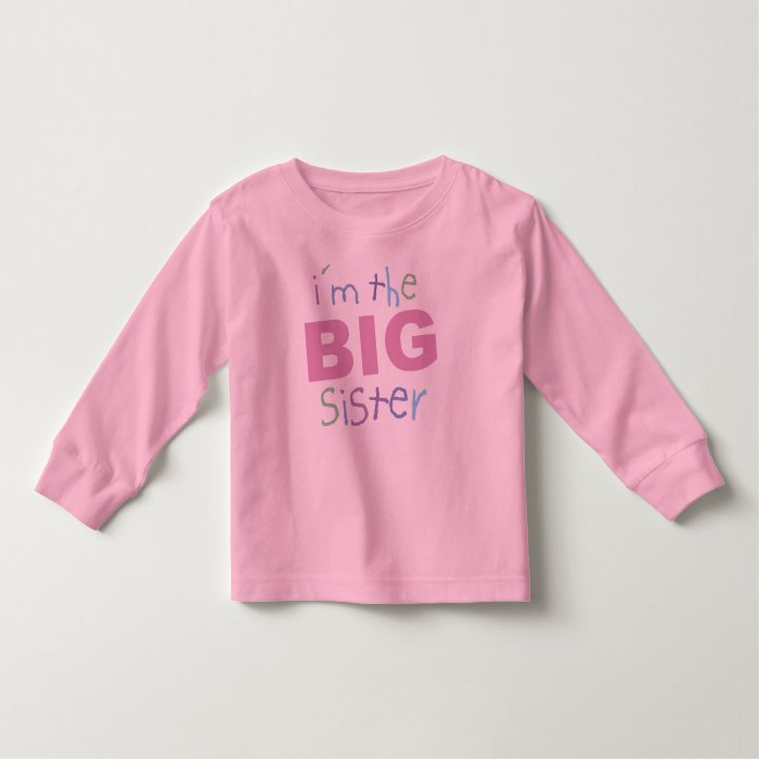 Big Sister Toddler Long Sleeve Toddler T-shirt