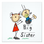 Big Sister with Little Brother Gifts Invitation