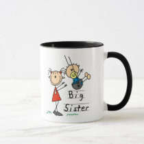 Big Sister with Little Brother Tshirts and Gifts Mug