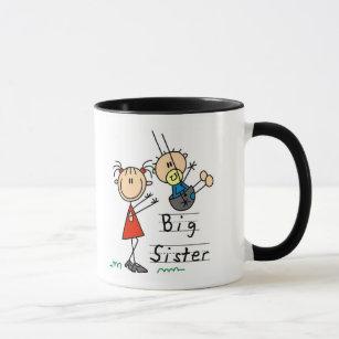 Big Sister Mug Details about  /Big Sister Coffee Mug Sister Birthday Present Big Sister