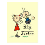 Big Sister with Little Brother Tshirts and Gifts Post Card