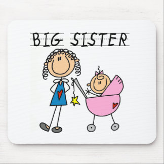 Big Sister with Little Sis Tshirts Mouse Pad