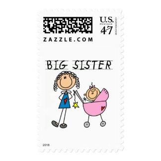 Big Sister with Little Sis Tshirts Postage