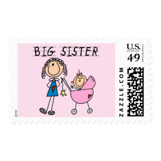 Big Sister with Little Sis Tshirts Stamps
