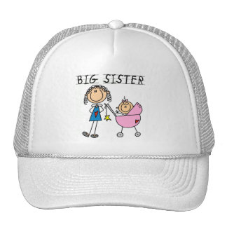 Big Sister with Little Sis Tshirts Trucker Hat