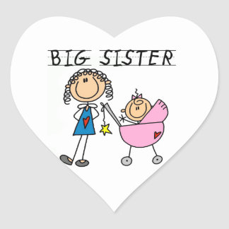 Big Sister With Little Sister Gifts Sticker