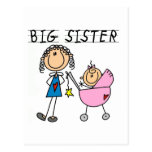 Big Sister With Little Sister T-shirts and Gifts Postcard