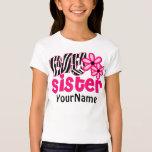 Big Sister Zebra Floral Shirt
