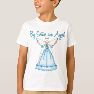 Big Sisters are Angles Blue Fairy T-Shirt