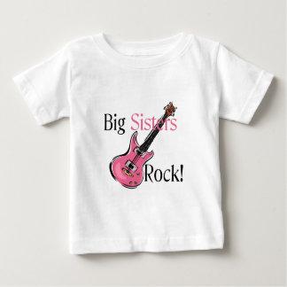 Big Sisters Rock Baby T-Shirt