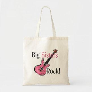 Big Sisters Rock Budget Tote Bag