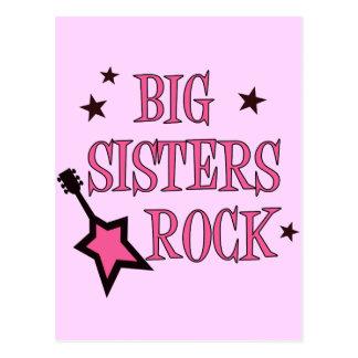 Big Sisters Rock Postcard