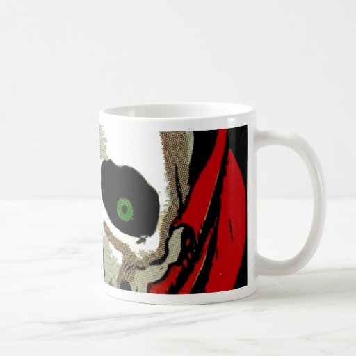Big Skull Coffee Mug