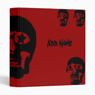 Big Skull Custom Avery Binder