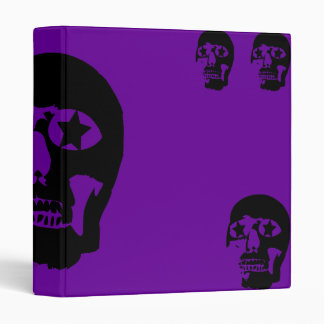 Big Skull Purple Avery Binder