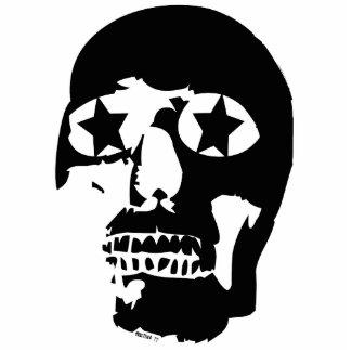 Big Skull Sculpture Keychain